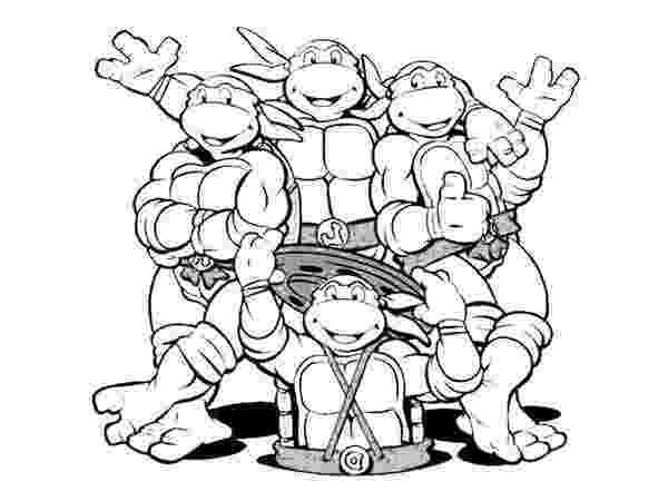 teenage mutant ninja turtles to color teenage mutant ninja turtles coloring pages best ninja teenage color mutant to turtles