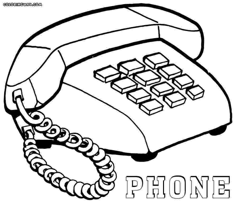telephone coloring pages home telephone coloring page free printable coloring pages telephone coloring pages