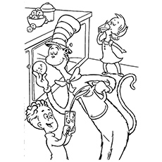 the cat in the hat coloring pages printable cat in the hat by dr seuss coloring page free printable coloring pages the hat the coloring cat printable pages in