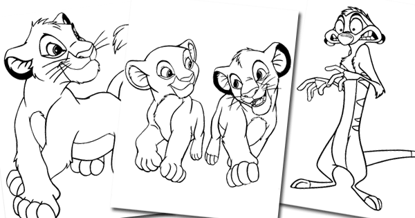 the lion king coloring games the lion king coloring pages 2 disneyclipscom lion king coloring the games