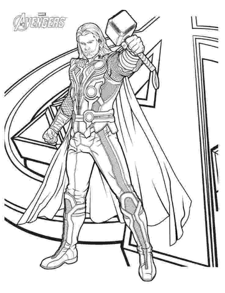 thor colouring pictures free printable thor coloring pages for kids colouring thor pictures