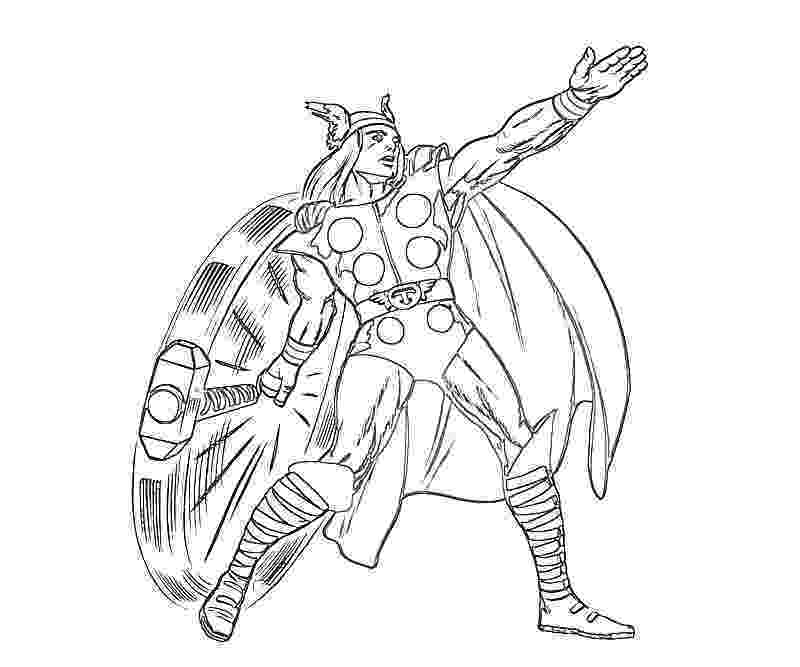 thor colouring pictures free printable thor coloring pages for kids thor pictures colouring