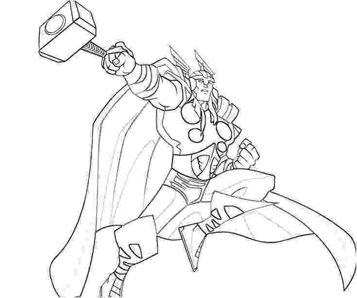 thor colouring pictures printable thor coloring pages for kids cool2bkids line thor colouring pictures
