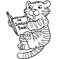 tiger coloring book pages mama and baby tiger worksheet educationcom tiger pages coloring book