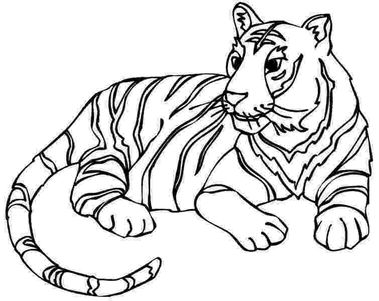 tiger to color tiger coloring pages for kids printable to tiger color