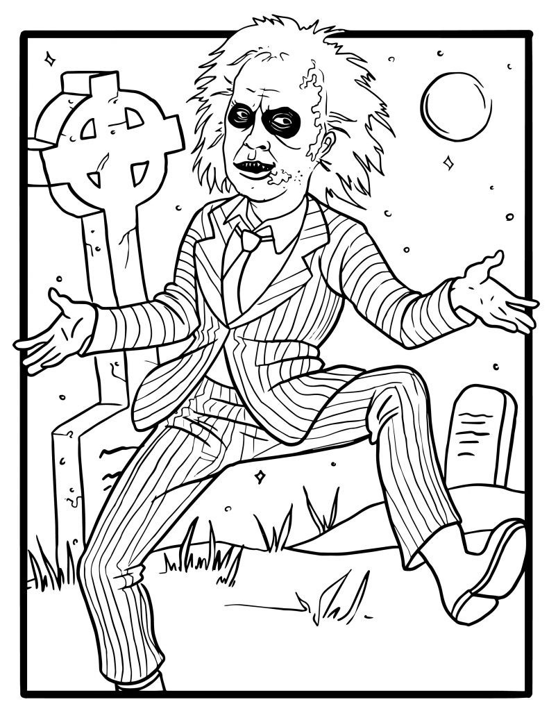 tim burton coloring pages 8 free tim burton adult coloring book page printables pages burton tim coloring