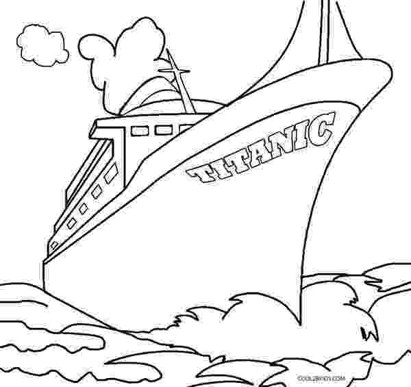 titanic coloring pages printable titanic coloring pages for kids cool2bkids coloring titanic pages