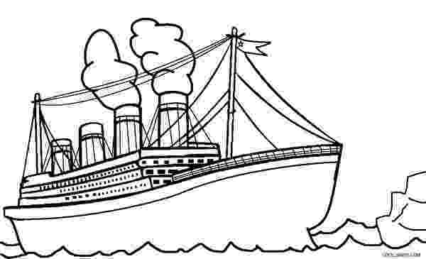 titanic coloring pages printable titanic coloring pages for kids cool2bkids pages coloring titanic