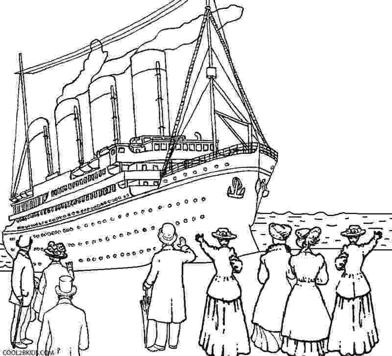 titanic coloring pages printable titanic coloring pages for kids cool2bkids pages titanic coloring