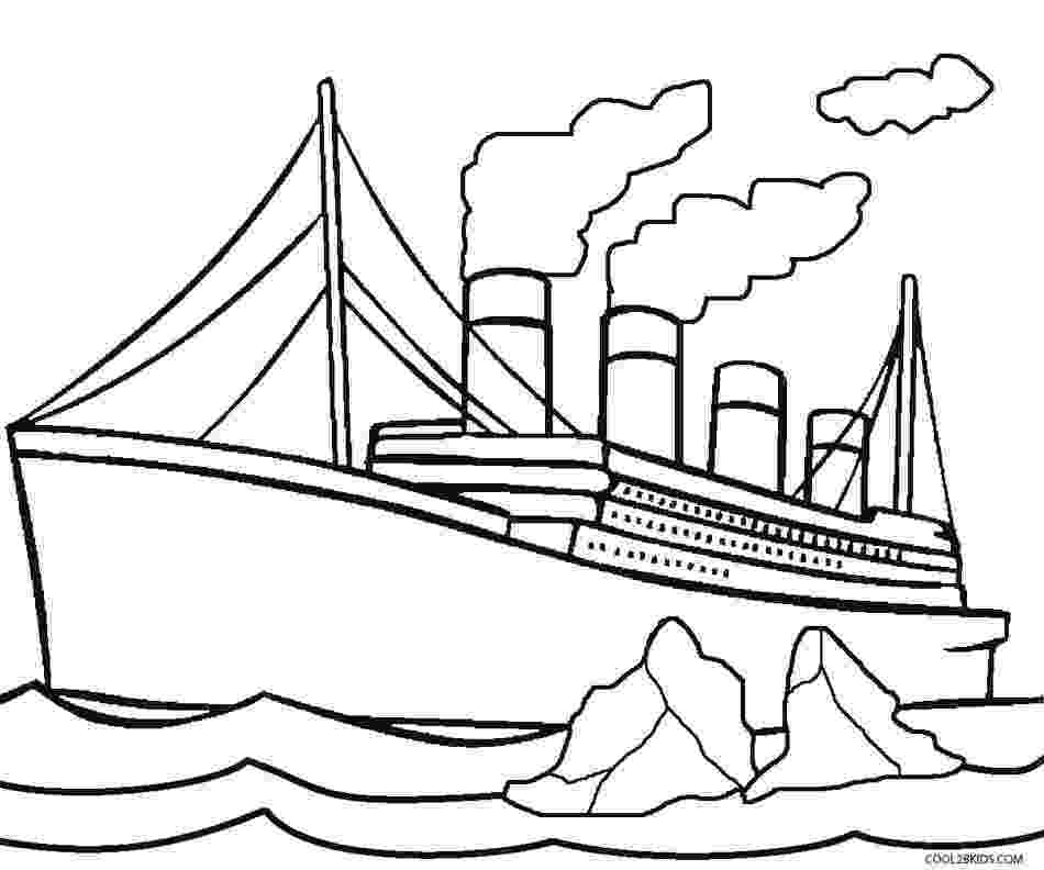 titanic coloring pages printable titanic coloring pages for kids cool2bkids pages titanic coloring 1 1