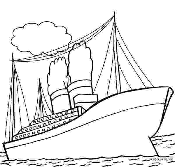 titanic coloring pages printable titanic coloring pages for kids cool2bkids pages titanic coloring 1 2