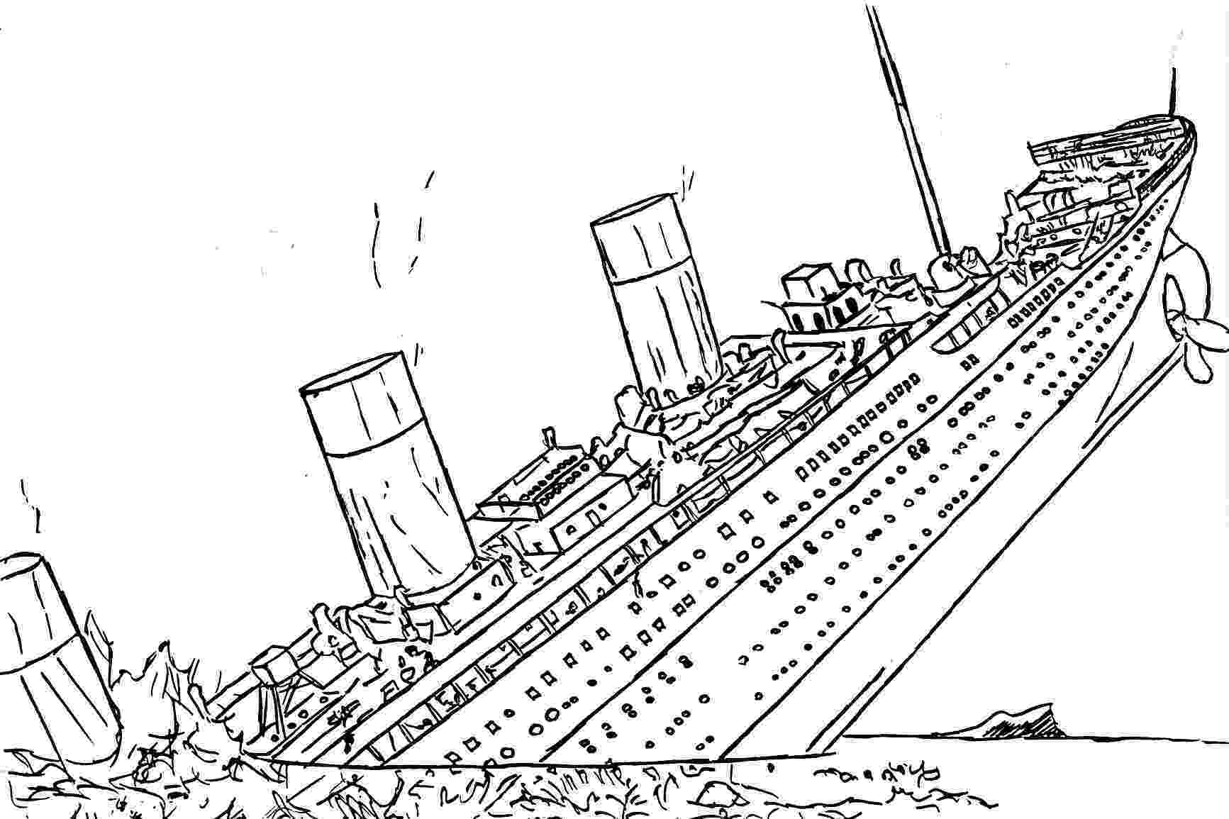titanic coloring pages titanic jack drawing at getdrawingscom free for pages coloring titanic