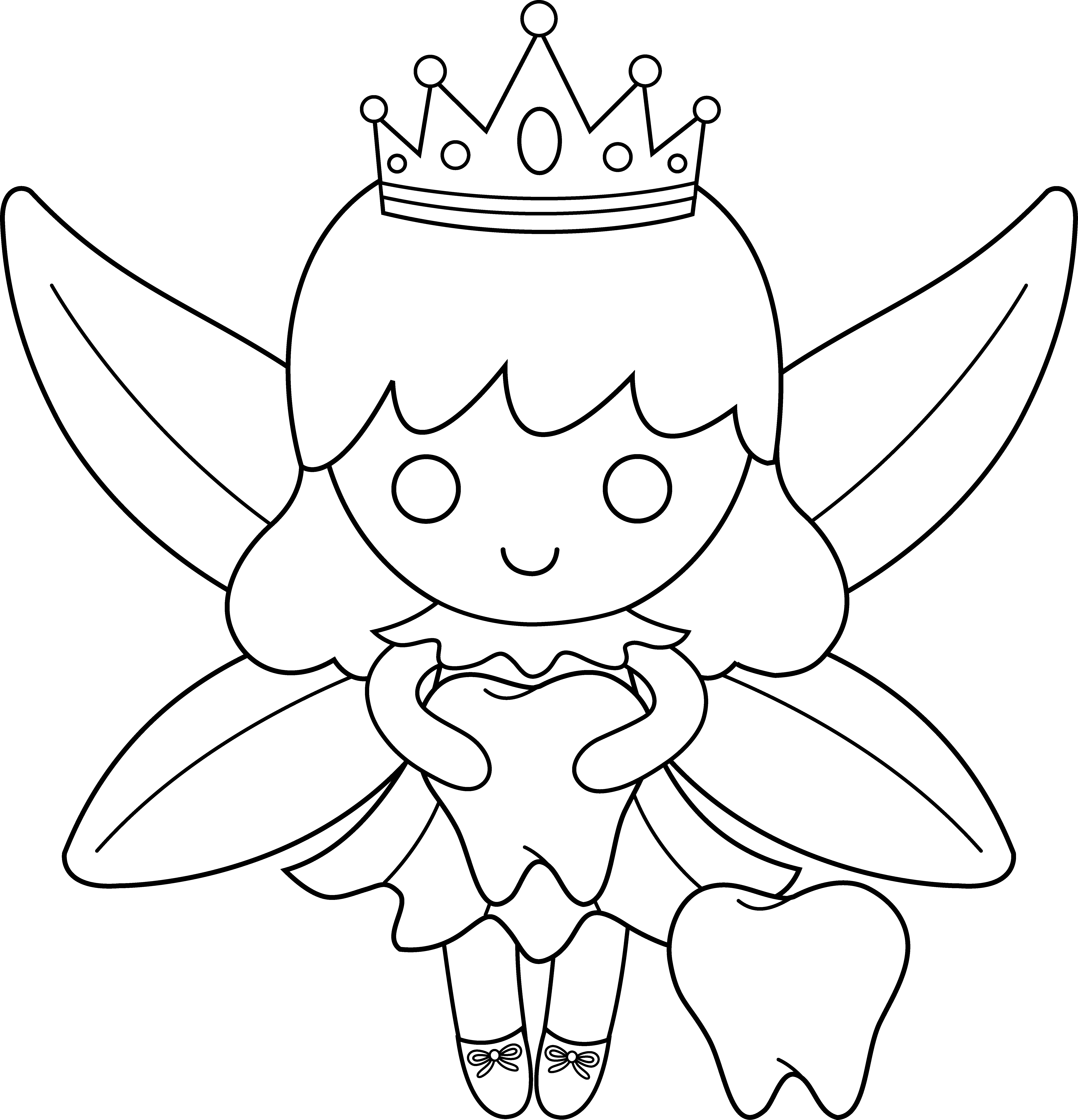 tooth fairy coloring pages cute colorable tooth fairy free clip art coloring tooth fairy pages