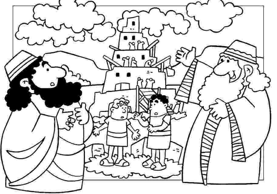 tower of babel coloring page tower of babel coloring page free printable coloring pages tower page coloring of babel