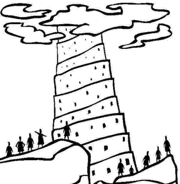 tower of babel coloring page tower of babel coloring pages coloring home coloring tower page babel of