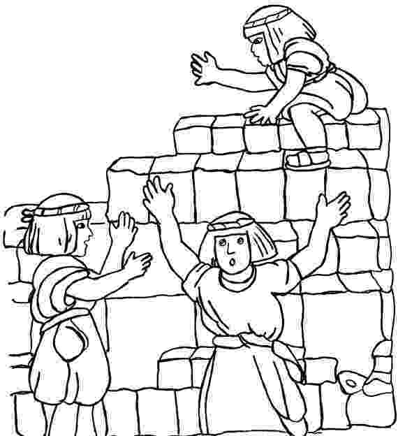 tower of babel coloring page tower of babel coloring pages coloring home page of coloring tower babel