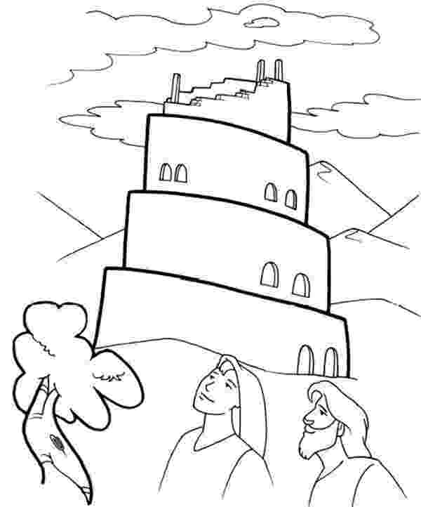 tower of babel coloring page tower of babel coloring pages for kids sketch coloring page of tower coloring babel page