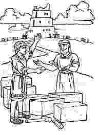 tower of babel coloring page tower of babel coloring sheet wesleyan kids babel tower page coloring of