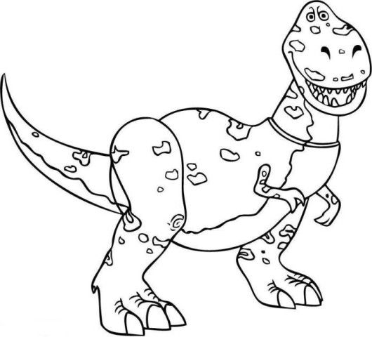 toy story rex coloring pages 19 best disney beauty and the beast malesider images on pages rex coloring story toy