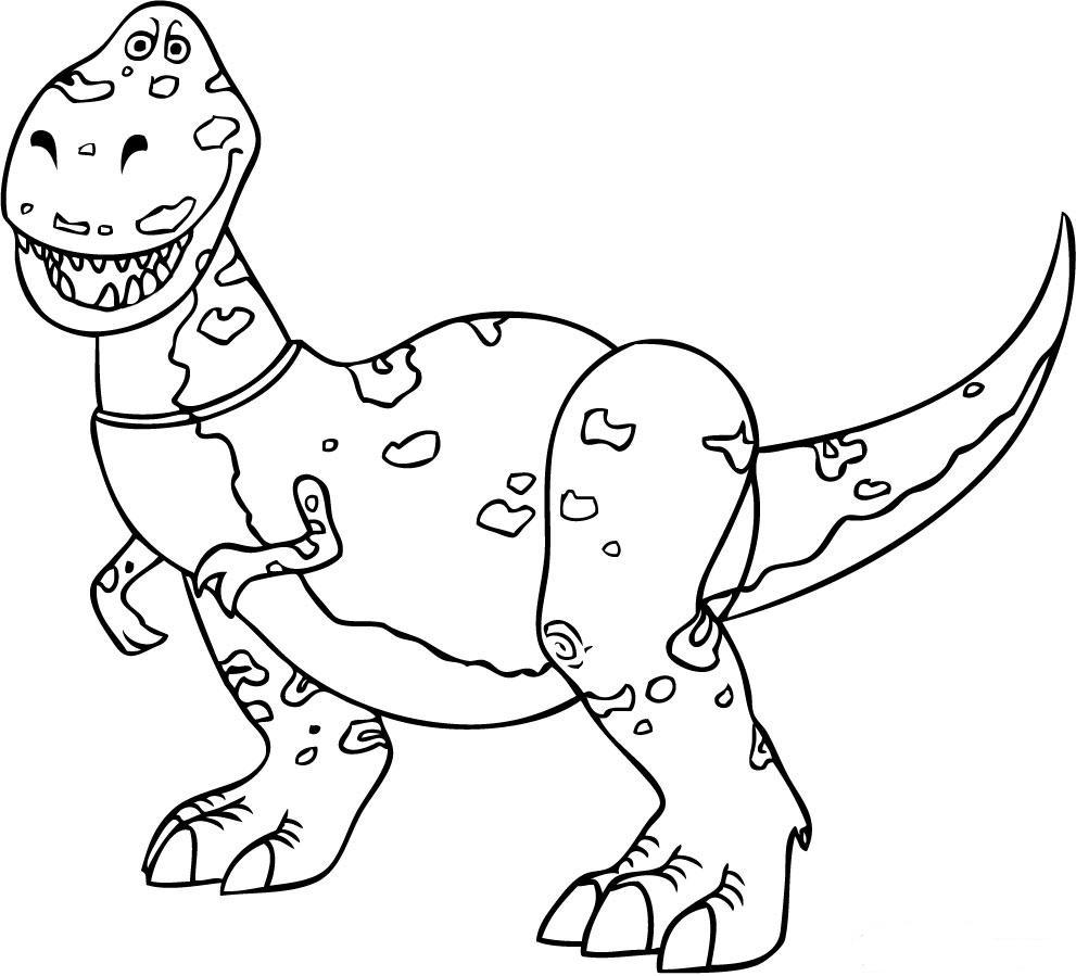 toy story rex coloring pages how to draw rex toy story pages story coloring rex toy