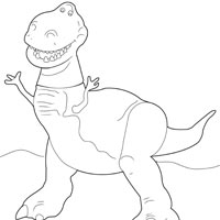 toy story rex coloring pages rex is reading a book in toy story coloring page pages toy rex story coloring