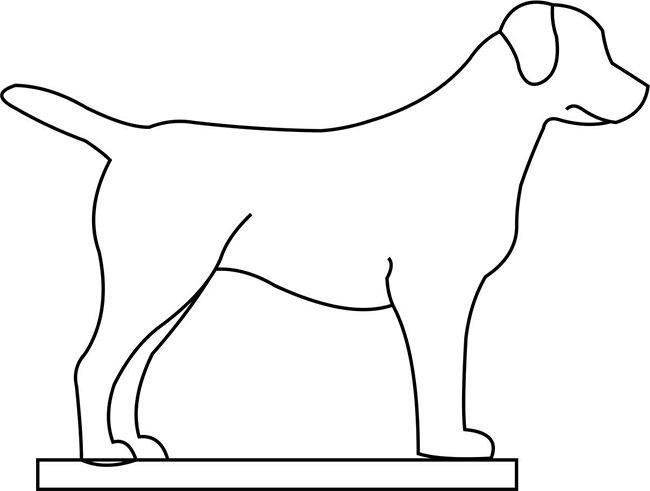 traceable dog sumptuous traceable dog pictures coloring dog traceable