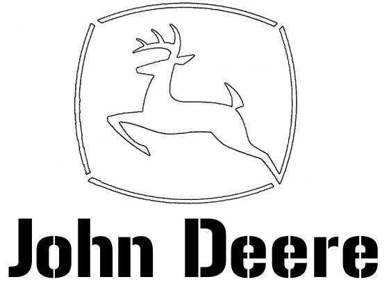 tractor stencil free john deere printable stencils pinterest free stencil tractor