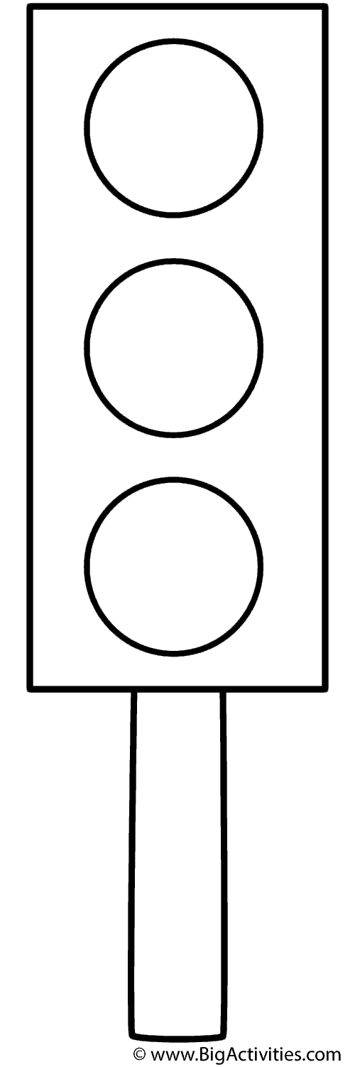 traffic light coloring page coloring page classroomorganizationprojects traffic coloring page light