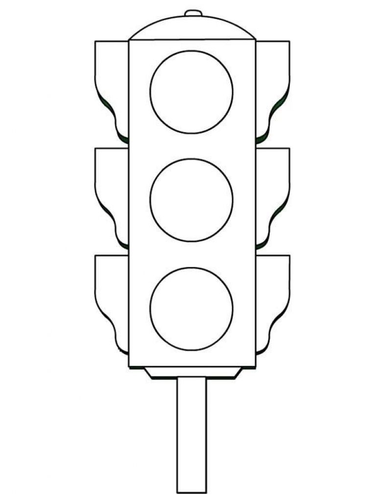 traffic light coloring page traffic light coloring page twisty noodle coloring page traffic light
