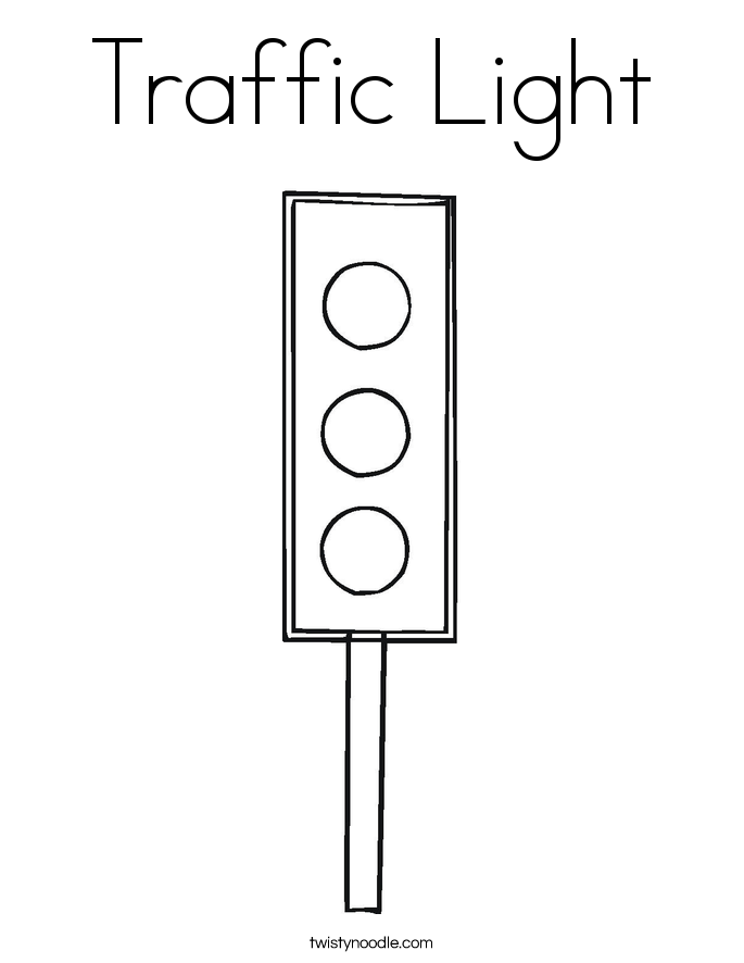 traffic light coloring page traffic light template printable clipart best page light coloring traffic