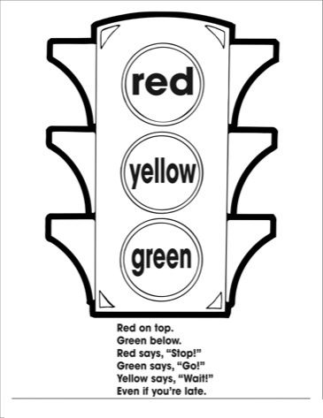 traffic light coloring page traffic lights stop sign coloring page class ideas page traffic coloring light