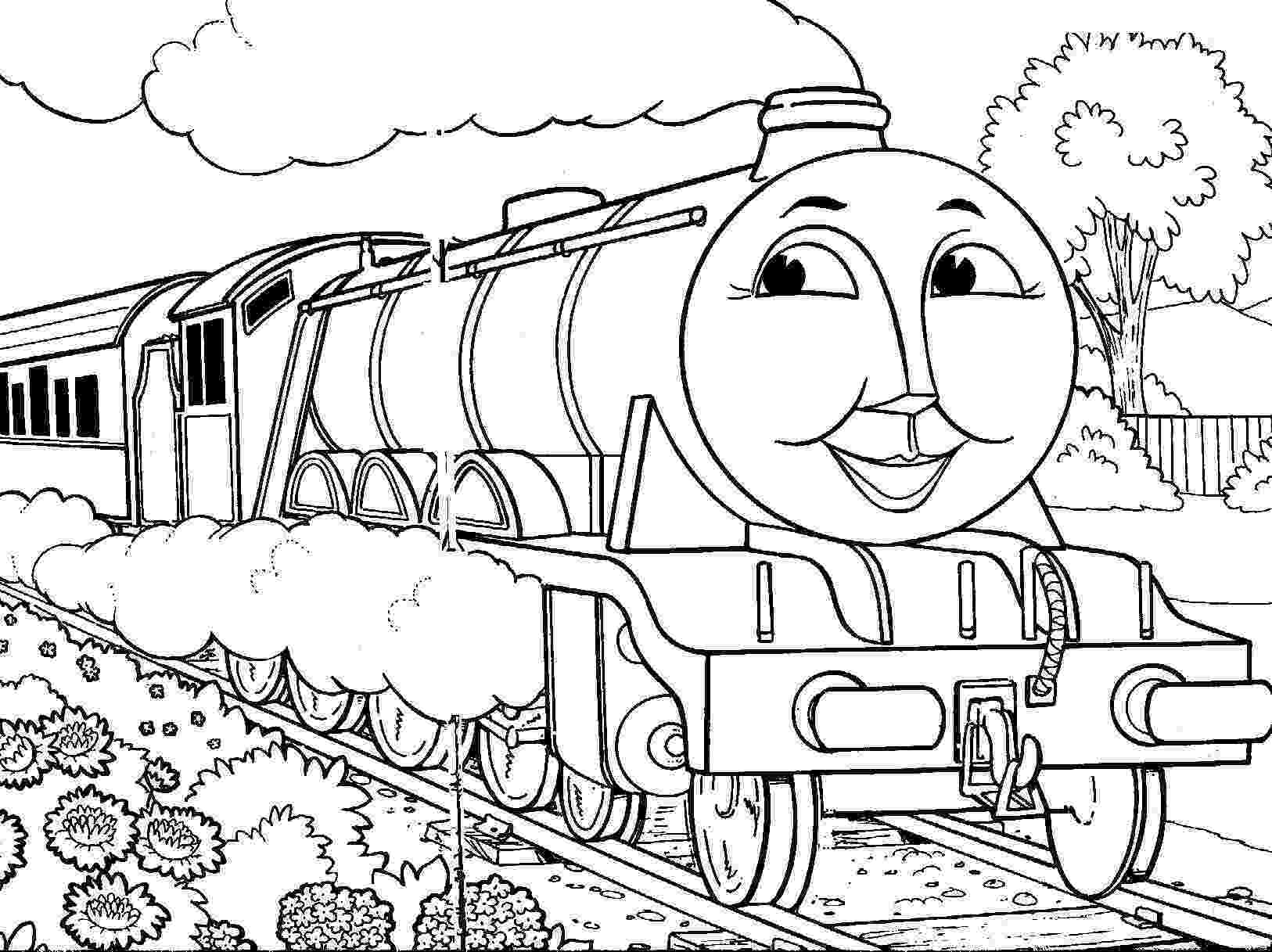 train pictures to color thomas the tank engine coloring pages gordon thomas the color train to pictures