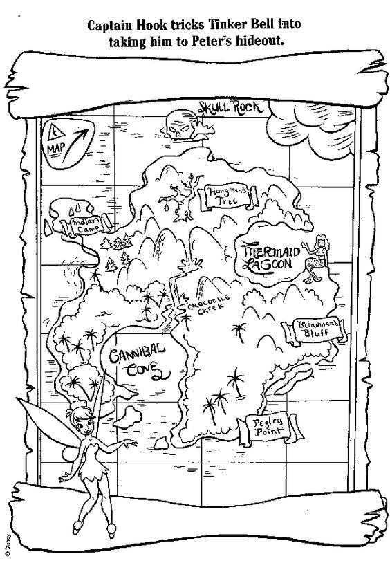 treasure map coloring page pirates worksheets preschool worksheets pinterest map coloring page treasure