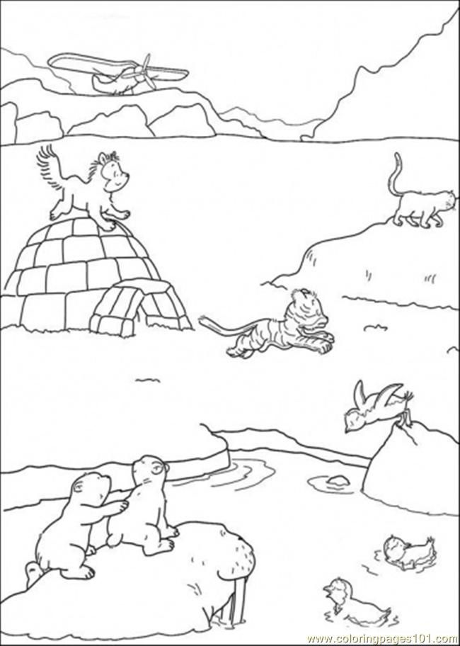 tundra coloring pages arctic tundra pages coloring pages coloring pages tundra