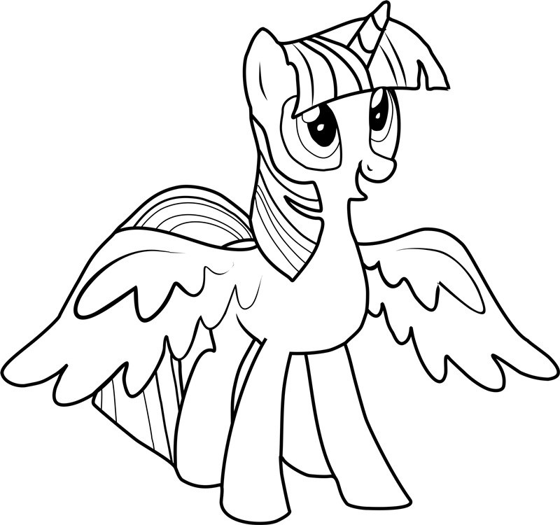 twilight sparkle coloring pages to print my little pony coloring pages twilight sparkle with wings twilight coloring sparkle to pages print