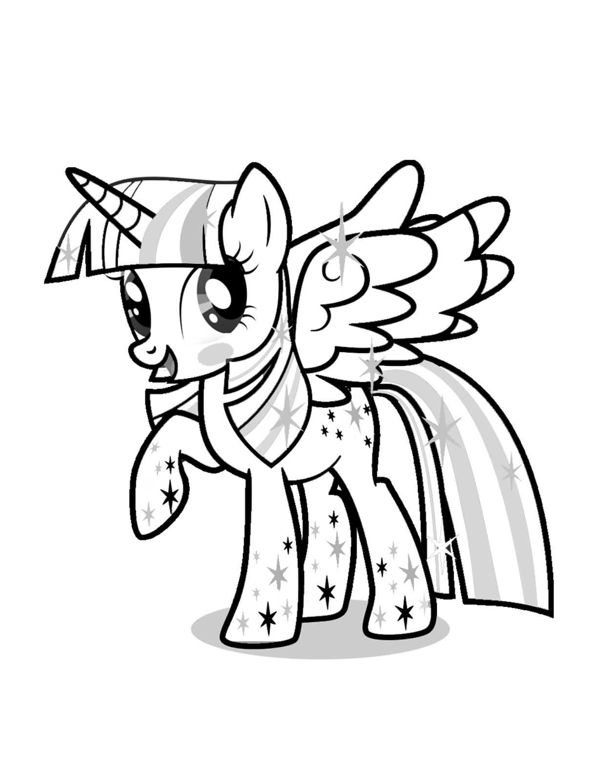 twilight sparkle coloring pages to print princess twilight sparkle coloring page free printable twilight coloring to pages print sparkle