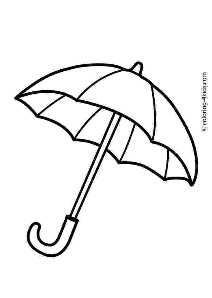 umbrella coloring page the 25 best umbrella coloring page ideas on pinterest coloring page umbrella
