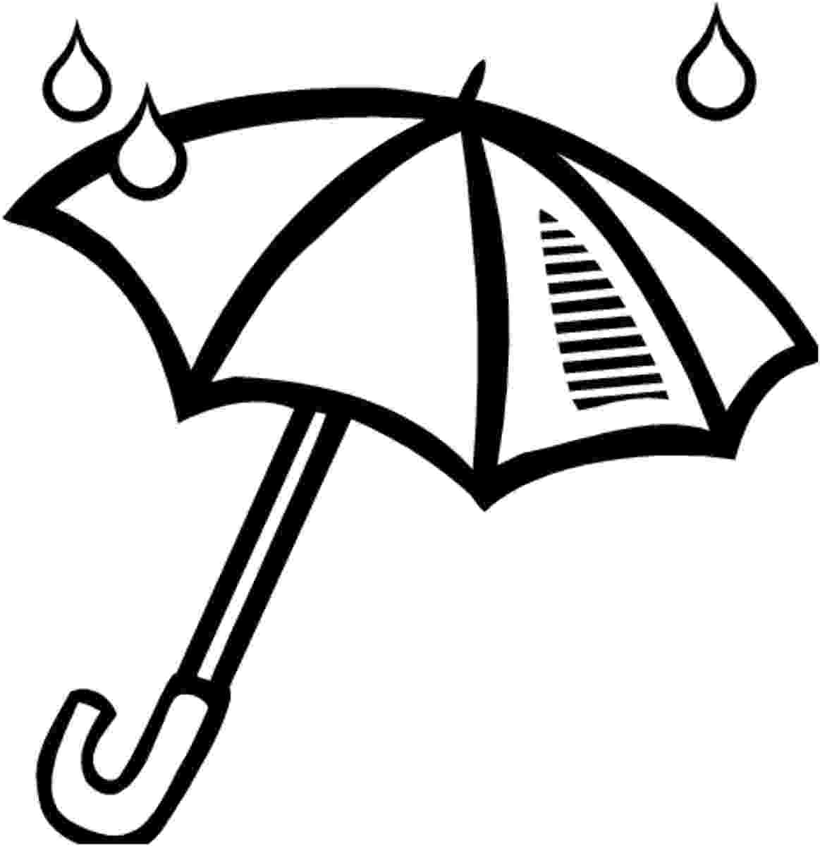 umbrella coloring page umbrella coloring pages for childrens printable for free umbrella coloring page 1 1