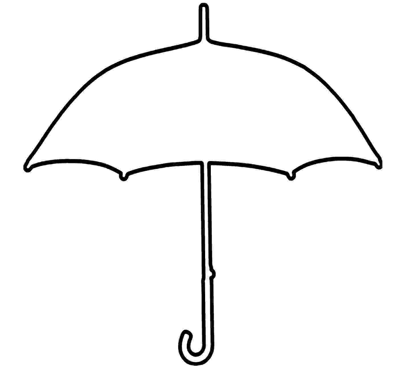 umbrella coloring page umbrella pictures clipartsco coloring page umbrella