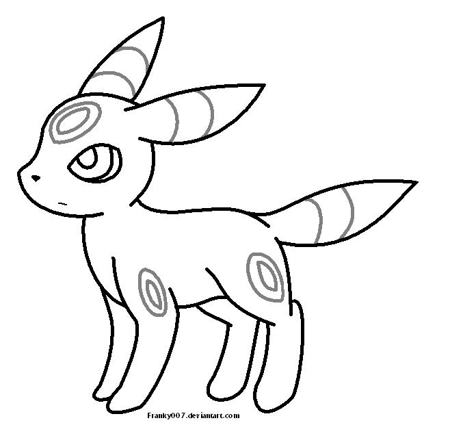 umbreon coloring espeon and umbreon coloring pages at getcoloringscom umbreon coloring