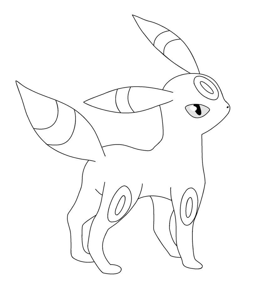 umbreon coloring pin on colorings coloring umbreon