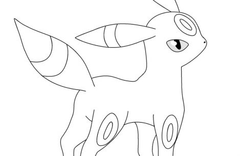 umbreon coloring pokemon coloring pages umbreon at getcoloringscom free coloring umbreon