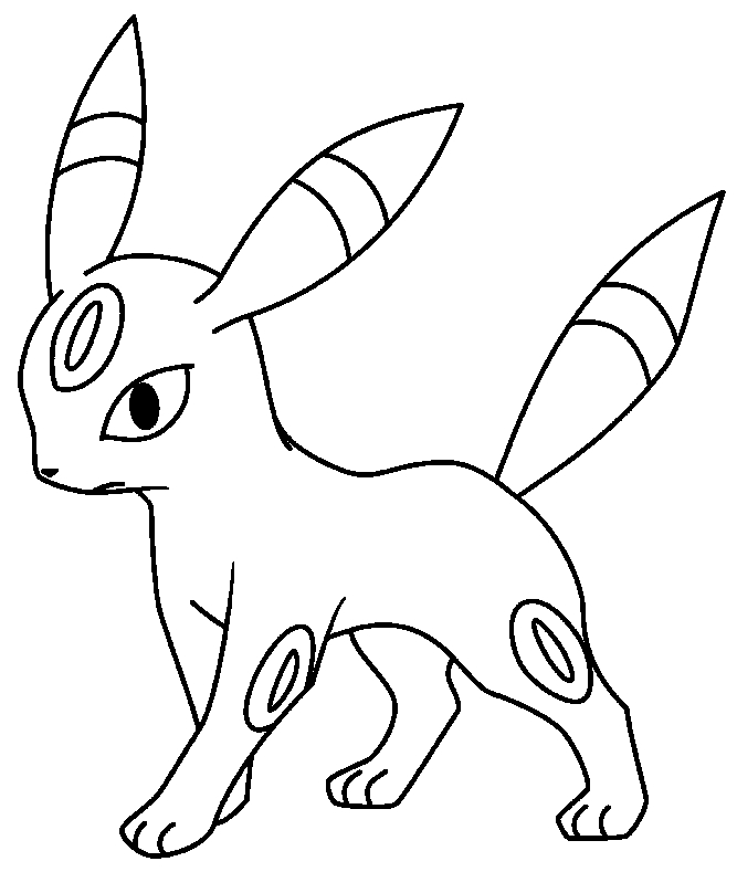 umbreon coloring pokemon coloring pages umbreon coloring home umbreon coloring