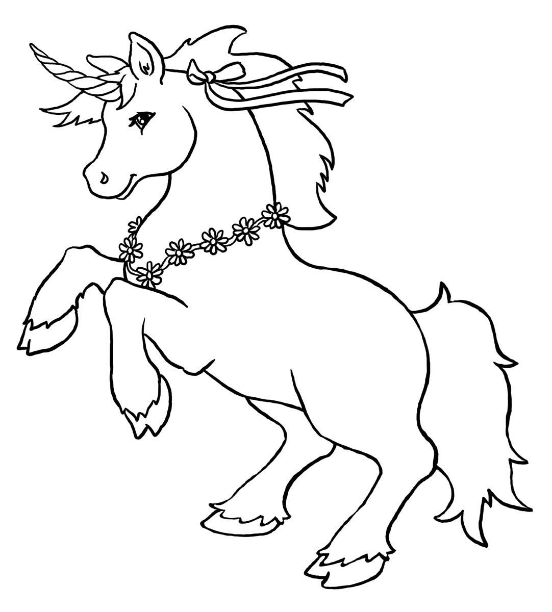 unicorn coloring page free printable unicorn coloring pages for kids page unicorn coloring