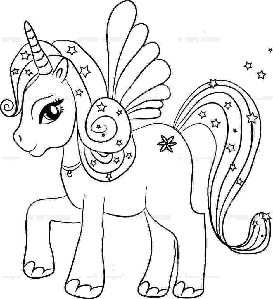 unicorn colouring unicorn drawing pages at getdrawings free download unicorn colouring