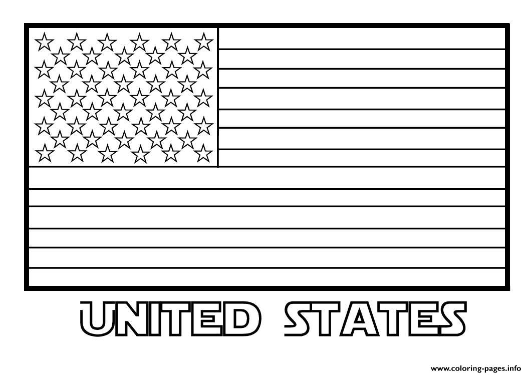 united states flag coloring page american flag united states coloring pages printable flag states coloring united page