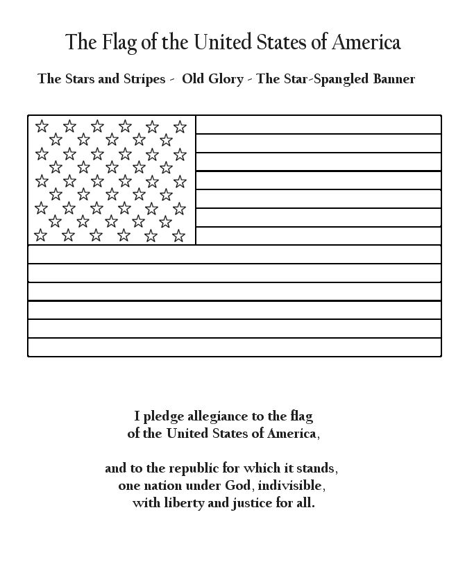 united states flag coloring page pledge allegiancegif 670820 girl scouts pinterest page coloring flag states united