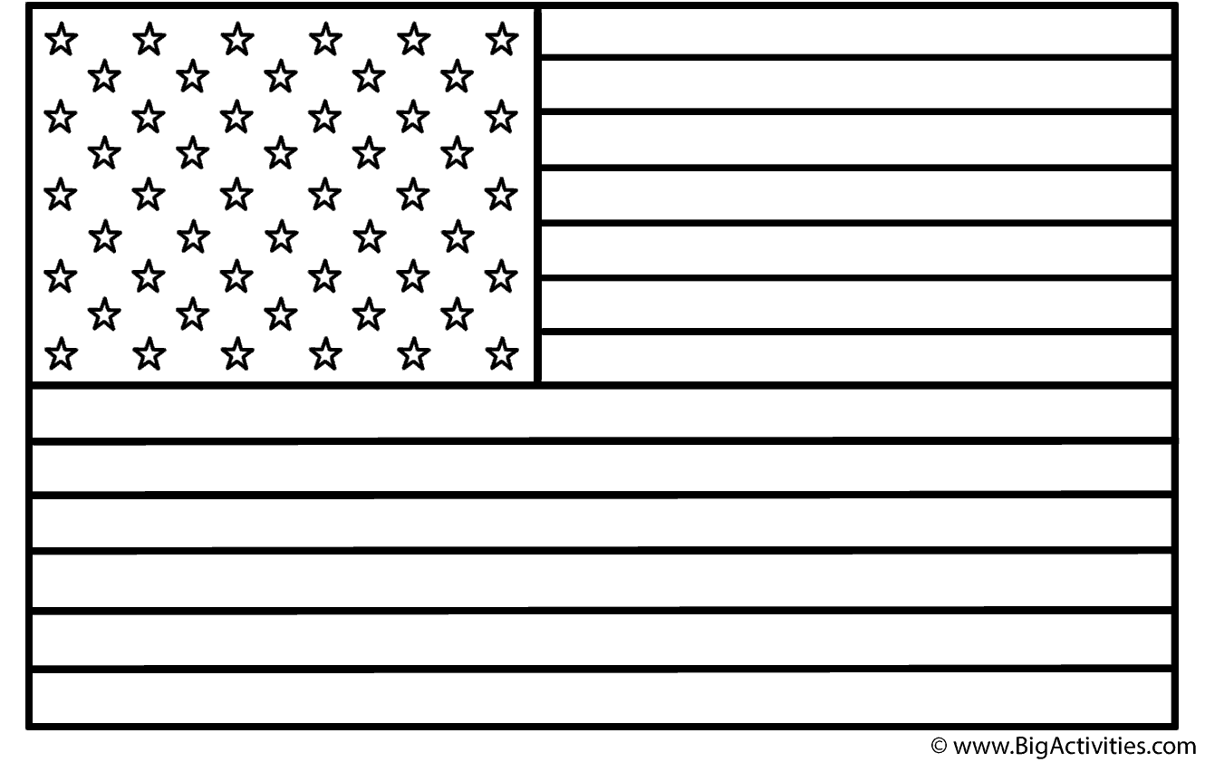 united states flag coloring page united states flag coloring page only coloring pages states united coloring flag page