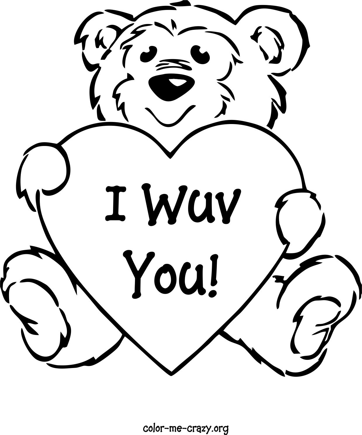 valentines colouring pages valentine39s coloring pages crazy little projects valentines pages colouring