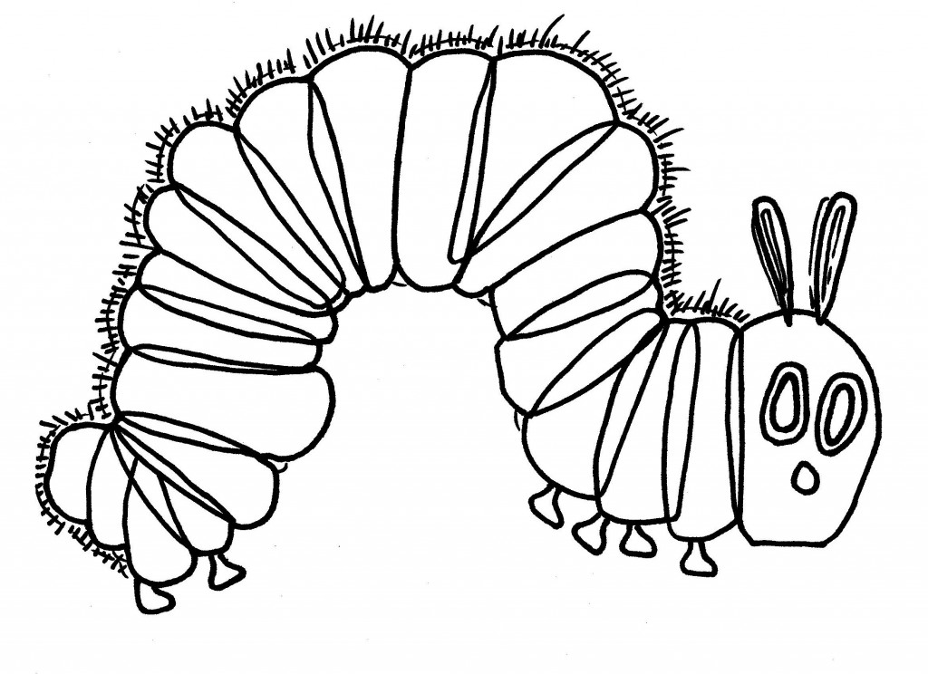 very hungry caterpillar colouring sheets hungry caterpillar drawing at getdrawingscom free for hungry very colouring sheets caterpillar